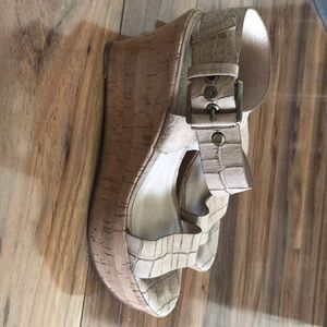 ViaSpiga Italian leather shoes size 6